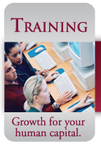 Click here to learn more about Training